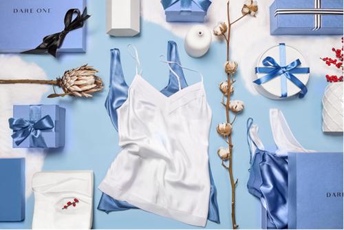 范冰冰的情人节睡衣意大利礼物男女真丝血统天友品牌情趣蝎穿图片