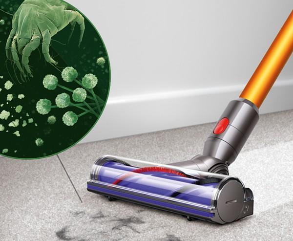 戴森吸尘器怎么清洗刷头_戴森吸尘器v10清洗_戴森吸尘器刷头介绍图解