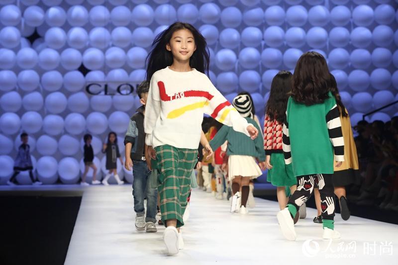 儿童时装盛典【秀场】-Cloudo Kids之夜 网罗一线童装 超模搭萌娃演图片