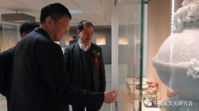中国玉文化研究会艺术馆在北京隆重开馆