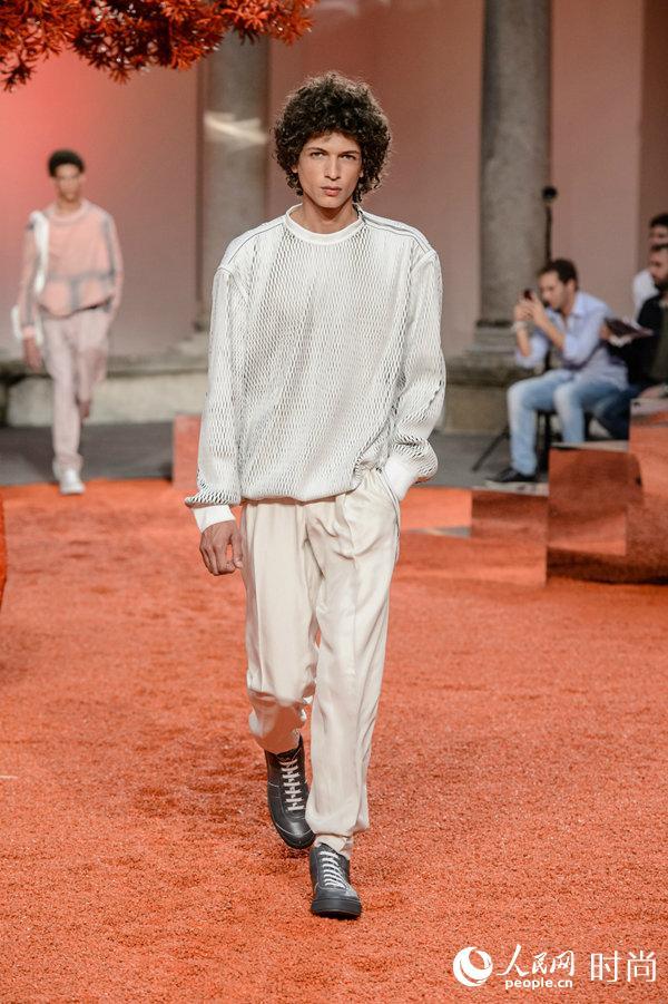 2018春夏Ermenegildo Zegna Couture系列模特造型
