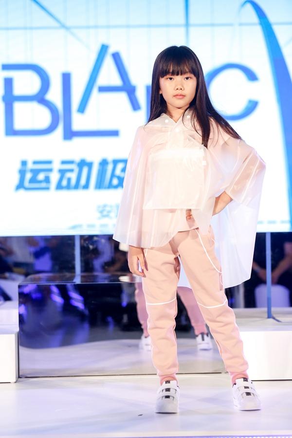 北京安踏儿童Blanc系列发布捕捉运动瞬息的点线魅力