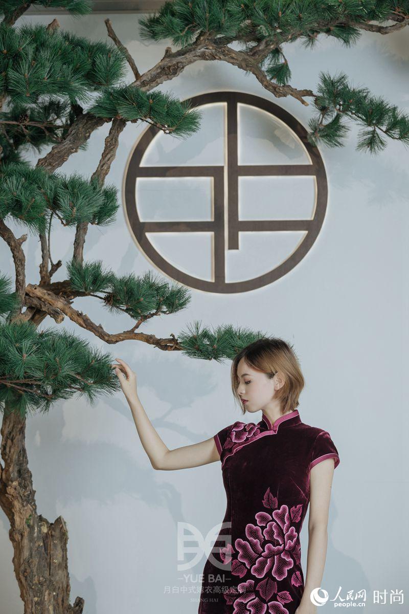 中式嫁衣设计图