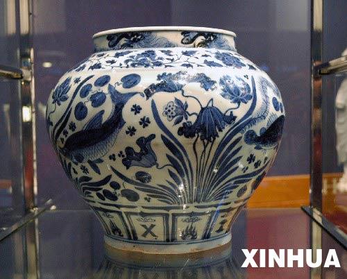 元代瓷罐在英国伦敦拍得200万英镑