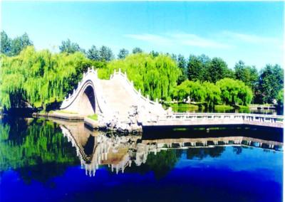 瘦西湖:姣花朗月映春貌  鸟语花香