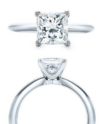 让你的新人酷爱不释顺手的Tiffany婚戒