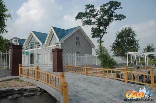 江苏某村的欧式别墅组图