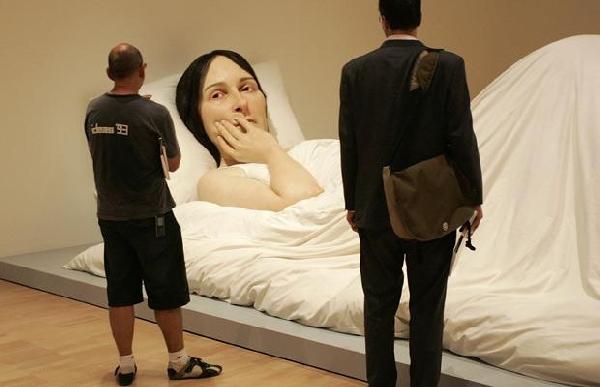 超逼真的人体雕像艺术 高清组图 2